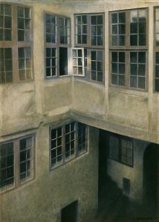 Vilhelm Hammershøi, Innenhof. Strandgade 30, 1899<br /> © Toledo Museum of Art, Ohio